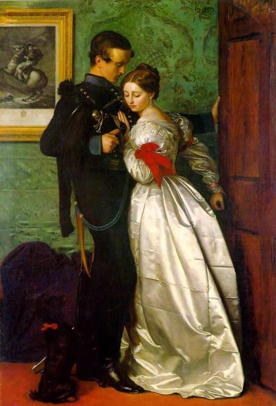 starsmending:  fuckyeahdecadence:  John Everett Millais - The Black Brunswicker