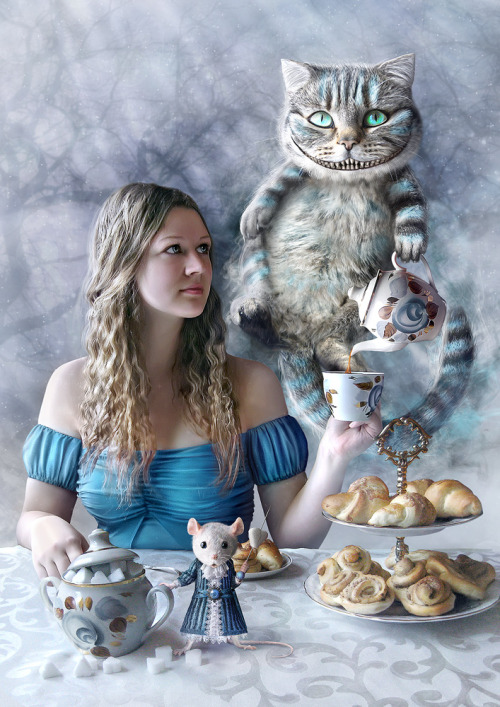 Tea-party in Wonderland