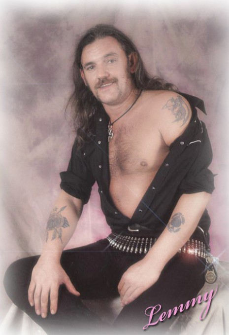 Lemmy + Glamor Shots = Sexy Nipple