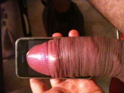 fuckyeahuncutcocks:  hotcocks:  Thick as an iPhone!