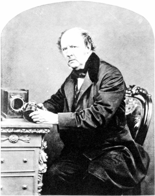 William Henry Fox Talbot, by John Moffat, 1864.