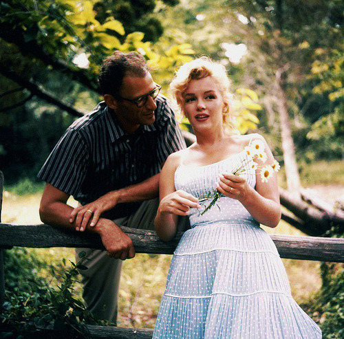 Marilyn Monroe and Arthur Miller (I believe)