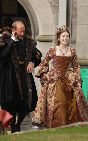 Sarah Bolger as Lady Mary Tudor in The Tudors series finale.