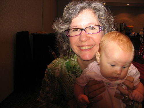 Alumnus Sue Ann Kendall and my daughter, Henley Jane.