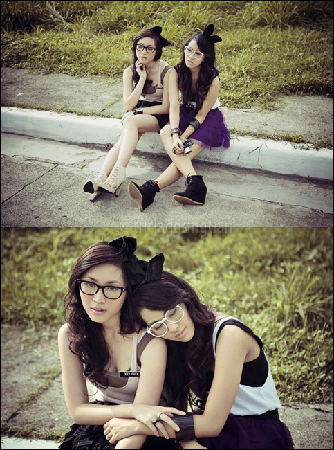 liz de asis & kaye razon #2 triciawillgoplaces:  Photography and styling: Tricia GosingtianHair  and make-up: Liz de  Asis and Tricia  GosingtianModels: Liz de Asis and Kaye Razon