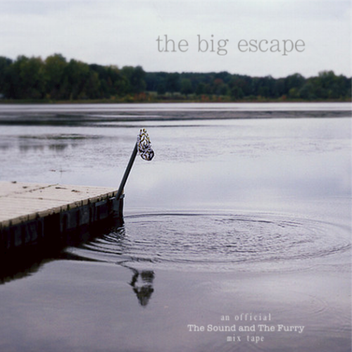 The Sound and The Furry Presents: The Big Escape As promised, here is Summer Mix #2!  If you missed the first one, be sure to grab Kids on the Run here! Dog is Dead - Glockenspiel Song Hold Your Horses! - 70 Million Magic Bullets - Lying Around Peter Wolf Crier - Hard As Nails S&F The Sundelles - Dead Youth S&F Pearly Gate Music - Big Escape S&F Typhoon - Mouth of the Cave S&F Active Child - When Your Love Is Safe Magic Man - Daughter Gigi (feat. Karl Blau) - The Old Graveyard S&F The Acorn - Crossed Wires S&F The Mynabirds - Numbers Don't Lie Toy Soldiers - Hard Times S&F? Larry and His Flask - Beggars Will Ride S&F The Young Veins - Change Or, The Whale - Datura S&F Good Old War - That's Some Dream S&F The Wilderness of Manitoba - Hardship Acres S&F S&F = bands previously featured on The Sound and The Furry. Cover photo by gcaliolo (see original here).  Click cover art to download!  Please support these artists by purchasing their albums and seeing them live…they're all good people.