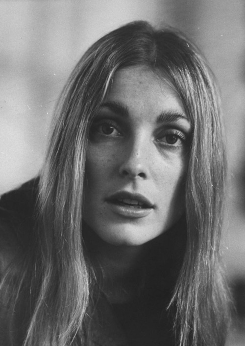 Sharon Tate in 1968Photographed by Bill Ray Image Source: LIFE
