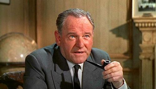 "Bernard Lee (1908-1981)  M played by Bernard Lee appears in eleven James Bond films from Dr No up  to and including Moonraker. In Dr No, M establishes his superiority  over Bond that would last for the next seventeen years.  from James Bond Multimedia: Bernard Lee page  In the Bond films, Lee's character, M, is Admiral Sir Miles Messervy (only ever named, besides as  'M', as 'Admiral' and 'Miles' on screen in his appearances), Bond's  irascible boss who sends him out on assignments. He also portrays M  along with Lois Maxwell as Moneypenny in the 1975 French comedy Bons baisers de Hong Kong. Lee  was succeeded by Robert Brown, though not necessarily  playing the same character (Brown had played another admiral in the  series previously). Judi Dench, a friend of Lee's, would later take  over the role of a brand-new M, starting in 1995 with some references to  her predecessor, including an oil painting of Lee in the role seen in  MI6's secondary HQ (a Scottish castle).  from Bernard  Lee's Wikipedia page  M was played by Bernard Lee from the first Bond movie, Dr. No, until Moonraker (1979). Lee died of cancer in  January 1981, four months after the filming of For Your Eyes Only began. He  had been too ill to appear in the film (which was released later in  1981), and the character was written out of it, with his lines given to  either his Chief of Staff or the Minister of Defence, Sir Fredrick Gray. In the first Bond film, Dr. No, M boasts about his ability to  reduce the number of operative casualties since taking the job, implying  someone else held the job recently before him. In the earlier films, he  has Bond's field equipment replaced by newer devices, such as replacing  his Beretta  with a Walther PPK and his Bentley  with an Aston Martin DB5. Ian Fleming made a  reference to a predecessor by stating in The Man with the Golden Gun ""My predecessor died in that chair."" Gardner also makes references to  M's predecessors in Scorpius, again suggesting that Messervy is not the  first. Also, in the film version of Dr. No, M is heard to call  himself head of MI7  which actually was the department in charge of propaganda and  censorship (the actor originally said MI6, but for reasons unknown was  overdubbed with the no-longer-extant MI7 prior to the film's release,  the DVD subtitles also state that M is head of MI6); this contradicts  later films that state he is in charge of MI6. Curiously, earlier in the  film, the department was actually referred to as MI6 by a radio  operator. This M refers to Bond by his first name, James, in both The  Spy Who Loved Me and Moonraker, and is referred to by his first name, Miles, only in The Spy Who Loved Me.  from M (James Bond) Wikipedia page // Bernard Lee's filmography on IMDb"