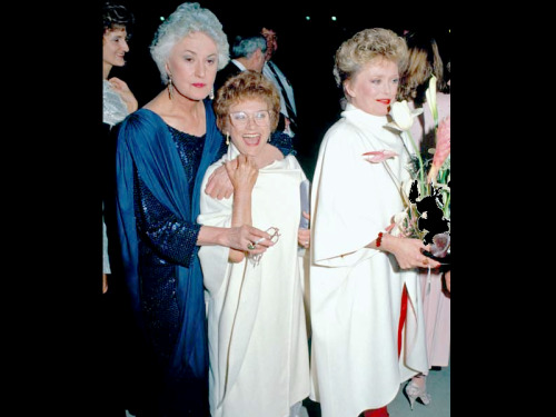 bitchesgetstuffdonee:  Bea Arthur, Estelle Getty and Rue McClanahan Rest In Peace you gorgoues women, I love you. :')