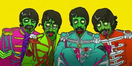 Sergeant Pepper's Lonely Zombies Band cherrymoses:  Some sort of Beatles ting by the rather amazing Jamie Lenman.