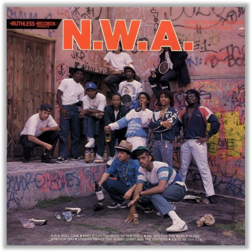 Here's a good read about all who all appeared on N.W.A.'s first album cover and what happened to them all: Whatever happened to N.W.A.'s Posse? [LA Weekly]