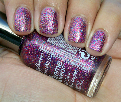 WANT. WANT. WANT. Sally Hansen Xtreme Wear in Rockstar Pink