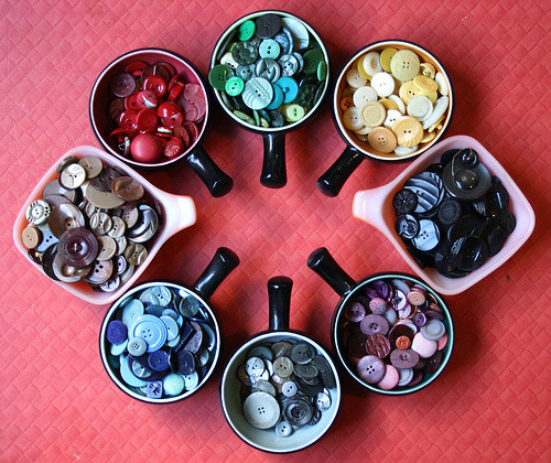 Button Bowls (by Betty Jo Designs)
