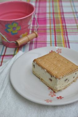 ice cream sandwich slice