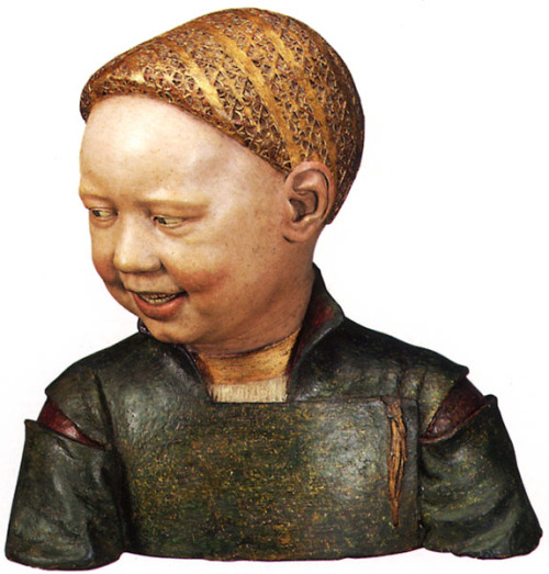 Bust of a Child said to be of Henry VIII by Guido Mazzoni, 1498.
