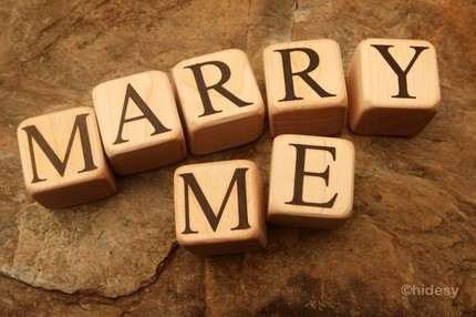 Clever Proposal Idea - Bridal Inquirer Blog