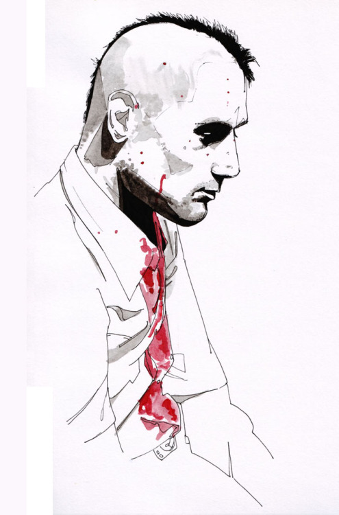 taxi driverby tom hopkinson+: his deviantart(via martinscorsese) (via theonlymagicleftisart)