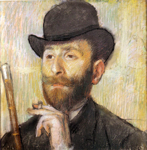 Edgar Degas - Self Portrait (1886)