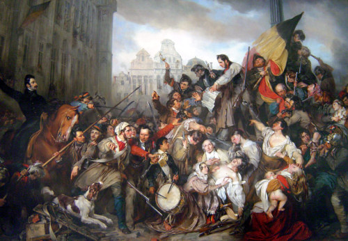 Egide Charles Gustave Wappers - Episode of the Belgian Revolution of 1830