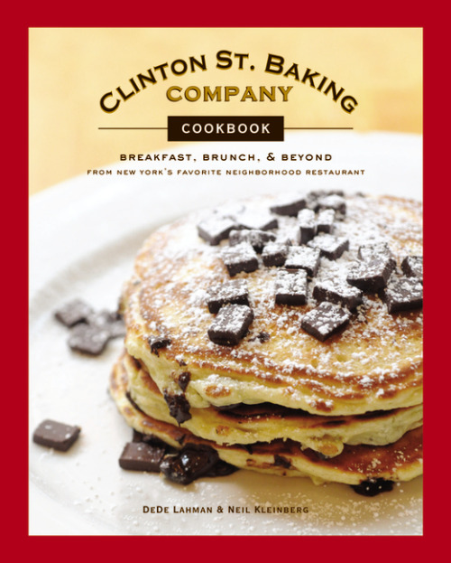 "NOVEMBER 2010 HARDCOVERClinton St. Baking Company Cookbook: Breakfast, Brunch, and Beyond from New York's Favorite Neighborhood RestaurantDeDe Lahman & Neil KleinbergISBN:978-0-316-08337-9; $29.99Sweet and savory recipes from New York City's hottest brunch spot.In a city where brunch is a near-religious experience, Clinton St. Baking Company and Restaurant is arguably the Holy Grail—a dining experience so fulfilling that people wait hours for a chance to savor their fresh baked goods, hearty omelets, sugar-cured bacon, and housemade buttermilk biscuits and tomato jam. In CLINTON ST. BAKING COMPANY COOKBOOK owners DeDe Lahman and Neil Kleinberg share more than 100 treasured recipes that have made their restaurant a sensation. Learn the secret to their irresistible comfort food: fluffy pancakes, red-flannel hash, muffins and scones, soups and sandwiches, and their decadent, eye-catching desserts. Helpful techniques, like Neil's ""flip and tuck"" omelet folding trick, and gorgeous color photographs make this the perfect guide to creating memorable meals at home. About the authors: DeDe Lahman and Neil Kleinberg are co-owners of Clinton St. Baking Company and Community Food & Juice. They live in New York City and Olivebridge, New York."