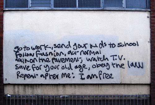 Repeat after me: I am free. via i.imgur.com