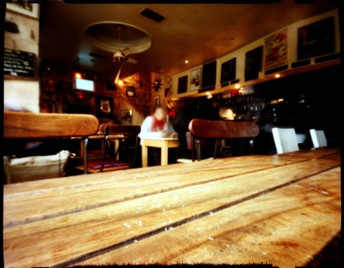 Inside Le Jean Bart | Shot with a ZeroImage Pinhole
