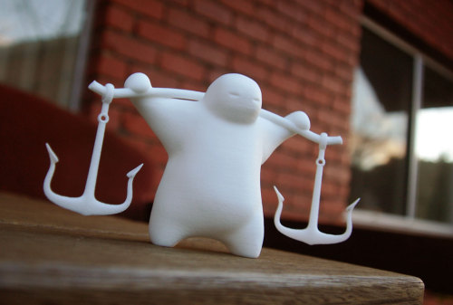 Just got a new figure I've been working on - I'm selling it at Shapeways if your interested