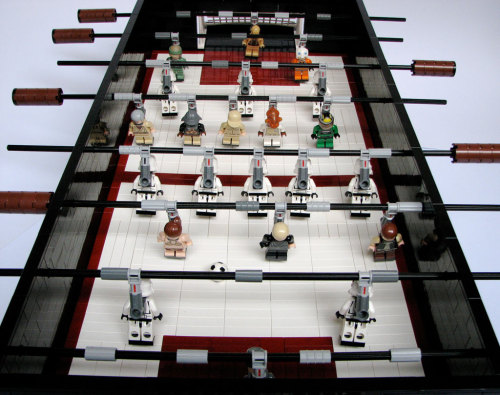 (Star Wars + foosball)^LEGO = some kind of wonderful.