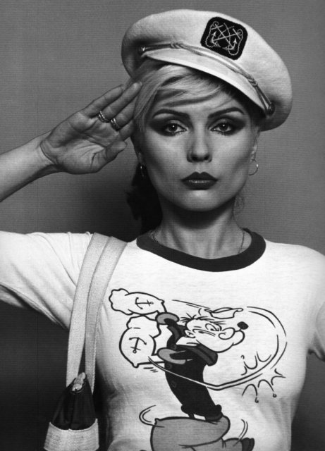 Happy birthday, nautical Debbie Harry