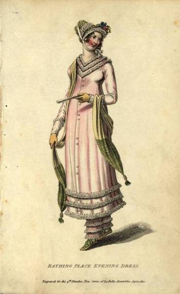 Bathing Place Evening Dress, date unknown.