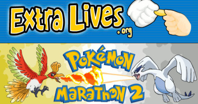 Extra Lives, the group of guys that do ridiculous video game marathons to raise money for charity, is currently doing a Pokemon game marathon!This time, they're  raising money for Free the Children, a charity that provides clean  water, healthcare, food and education to children in developing nations. http://www.extralives.org/