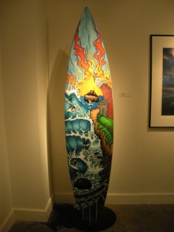 Surf City Exhibit at the MAH: Lane by Kevin Walsh  -Ricky