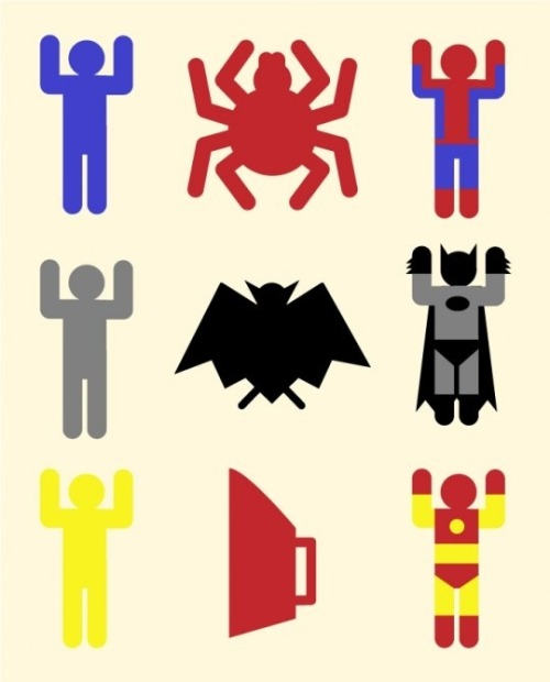 jimmywhacked:  carlosbela:  [BB-Blog]: Superheroic minimalism.