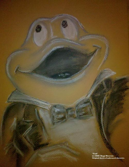 "archermgb:  ""Toad"" by Me Charcoal"
