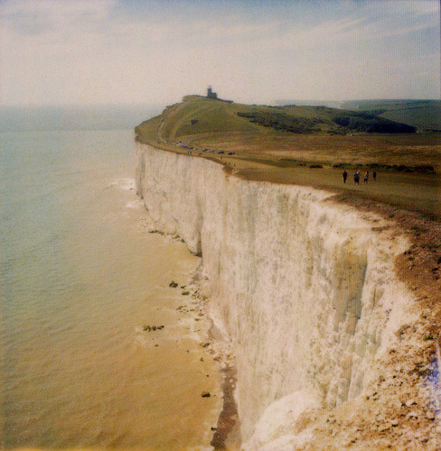 123 places to visit  #123+: White chalk cliffs of south-east England, UK