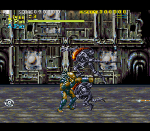 Alien vs Predator for SNES via retropixelpolygon