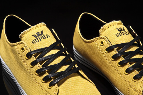 Supra Fall 2010 Thunder Low Yellow Canvas (via jbarks)