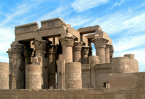 aboutegypt:  Kom Ombo Temple (by Luci86)