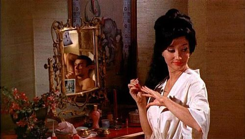 Miss Taro - The Character in the Movie  In the 1962 James Bond movie Dr. No, Miss Taro worked as a  secretary for Pleydell-Smith at Government house in Kingston, Jamaica.  She also worked for Dr. No and  reported to him that James Bond was coming over to investigate the death  of John  Strangways, the head of station in Jamaica. Bond was the only one  who realized her connection with Dr. No and he even caught her spying on  a conversation through a keyhole. Miss Taro invited Bond to her house for dinner, something that didn't  happen in the novel. It was,  of course,  a trap and three of Dr. No's  henchmen came after bond in a hearse. Bond managed to loose them,  sending them flying down a cliff, and drove on to Miss Taro's house. She  was surprised to see him and soon after got a call from another of Dr.  No's henchmen Professor  Dent. Miss Taro said that Bond was there and she was told to keep  him there so he could be assassinated later on. She kept Bond there and said she would make a Chinese. Bond lied,  saying he fancied something else and that he would call a cab. He had  actually called Government House and when Miss Taro got in the car, she  realized she was being arrested and spat in Bond's face. Bond stayed to  wait for Professor Dent and Miss Taro was presumably sent to jail or to  be interrogated.  The Character in the Book  Miss Taro is a fictional character who appeared in Ian Fleming's  novel Dr. No, published in 1958. She was a Chinese woman who  worked in Jamaica as a secretary for Pleydell-Smith, who in turn worked  for the British Secret Service as Principal Secretary at Government  House in Kingston, Jamaica. Off the coast of Jamaica was a small island named Crab Key. It was  owned by Dr. No, who was using a powerful radio beam to takeover the  guidance systems of USA test missiles so he could crash land them. Miss  Taro reported back any information that may concern him or his island.  She looked through Bond's file and reported that a British Spy was  coming to Investigate. Bond discovered this when he found his folder  open on her desk. She also stole the files on Crab Key to deter anyone  from investigating. Unlike the movie, Miss Taro doesn't appear again  after Bond's meeting with Pleydell-Smith.  from Miss Taro @ 007 James