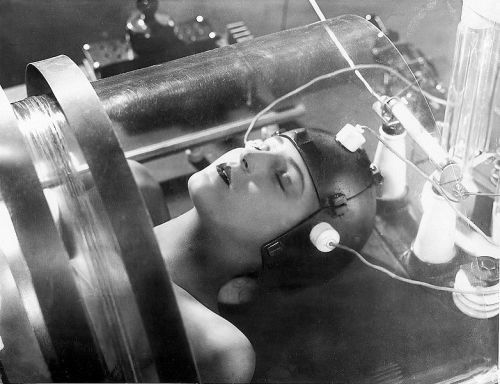 Brigitte Helm in Fritz Lang's Metropolis (1927) Image Source: Famous Monsters