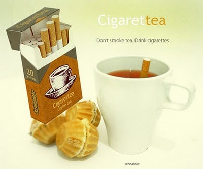 figure tea bags - cigarettea