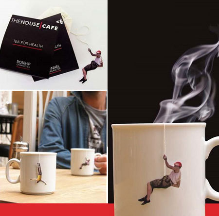 figure tea bag - sports