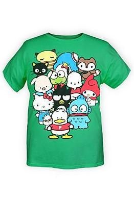 hello-kitty:  Sanrio Characters T-Shirt $19.00 to $23.00