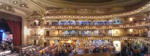 El Ateneo, Buenos Aires (courtesy of my first successful Pano)