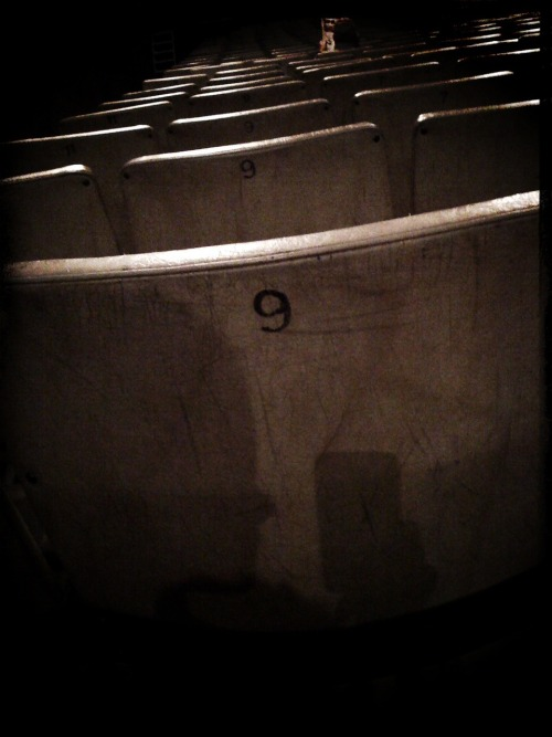 Self-Portrait at the Cinema (I'm a shadow of what I once was), 2010