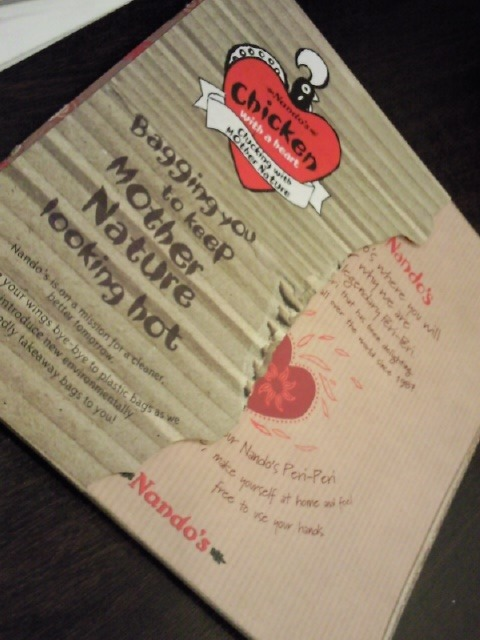 02-05-2009 Nando's (JB Jusco tebrau) Treat my mum for her birthday! NOT really recommend!the foods normal and the service is worst!!!!