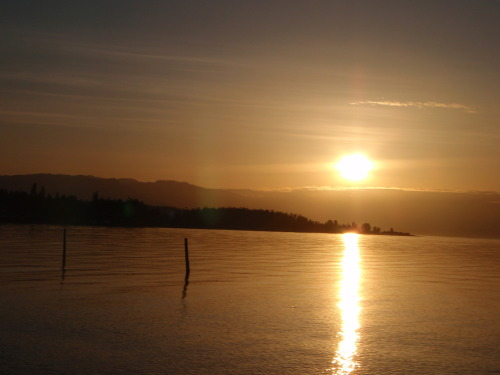 Qualicum sunset.