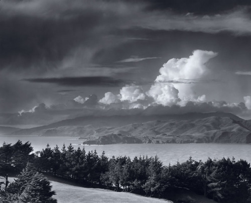 "Piano composition about ""Golden Gate Headlands"" by Ansel Adams will be posted soon."