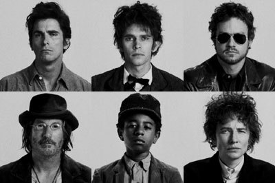 ibleedsequins:  - Christian Bale, Ben Whishaw, Heath Ledger, Richard Gere, Marcus Carl Franklin and Cate Blanchett in I'm Not There.