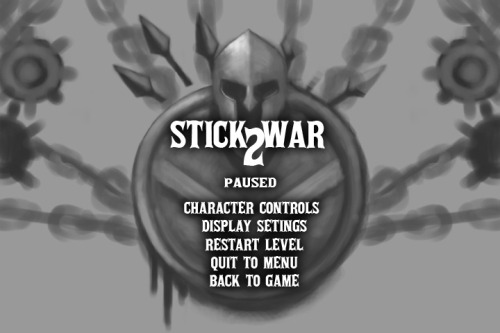 Stick War & Stick Empires Dev Blog, A rough draft of the new pause